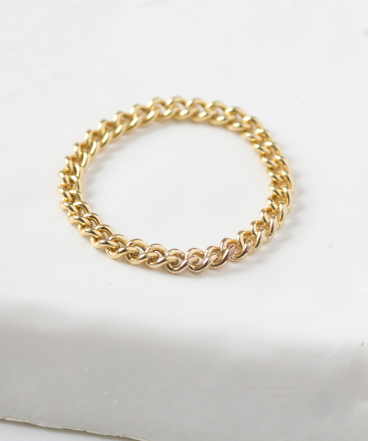 <SALE30%OFF>K14gold-filled キヘイチェーンリング ☆